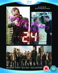 24 Season 8 Blu-ray Box Set Cover