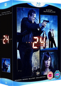 24 Season 7 Blu-ray Box Set Cover