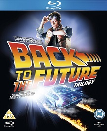 Back to the Future Trilogy Blu-ray Box Set Cover