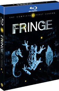 Fringe Season 1 Blu-ray Box Set Cover