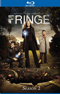 Fringe Season 2 Blu-ray Box Set Cover