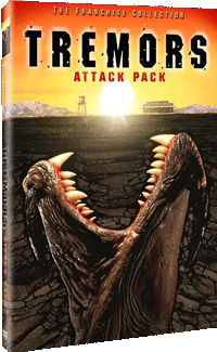 Tremors: Attack Pack DVD Cover