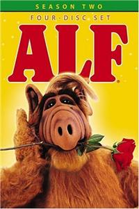 ALF Season Two Box Set DVD Cover