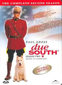 Due South Season 2 Box Set DVD Cover