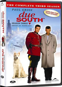 Due South Season 3 Box Set DVD Cover