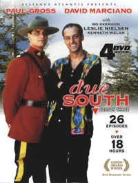 Due South Season Three (including Season 4) [Echo Bridge] DVD Cover