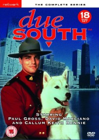 Due South Season 1-4 Box Set DVD Cover