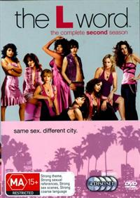 The L Word Season Two Box Set DVD Cover