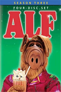 ALF Season Three Box Set DVD Cover