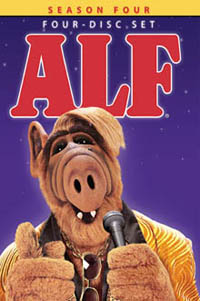 ALF Season Four Box Set DVD Cover