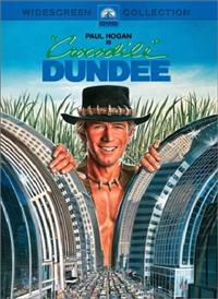 Crocodile Dundee One DVD Cover