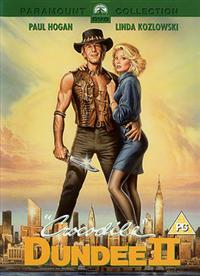 Crocodile Dundee Two DVD Cover