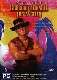 Crocodile Dundee in Los Angeles DVD Cover